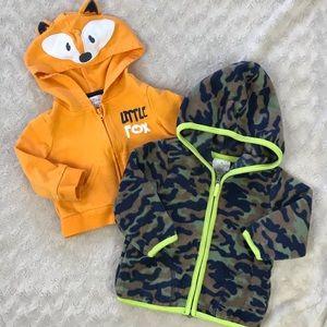 Baby Boy Jacket Bundle Little Fox Camouflage